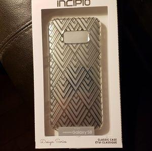 Incipio silver case for Galaxy S8 - NEW IN BOX